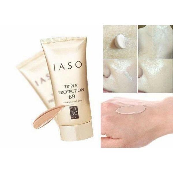 IASO Triple Protection BB SPF30 PA++ Kem nền BB Cream Makeup 3 công dụng
