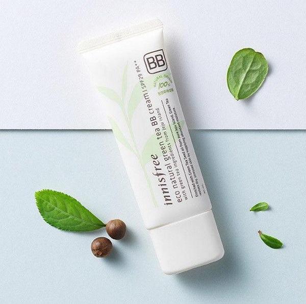 Kem lót BB Cream Innisfree Eco Natural Green
