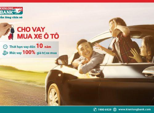 Lựa chọn ngân hàng cho vay mua ô tô lãi suất tốt