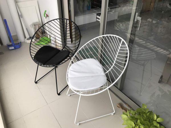 Mẫu ghế nón phù hợp với những không gian cafe hồ bơi