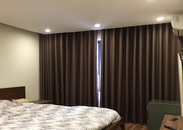 Rèm vải 2 lớp dành cho phòng ngủ