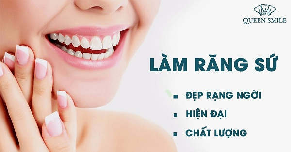 Những tiện lợi khi bọc răng sứ.