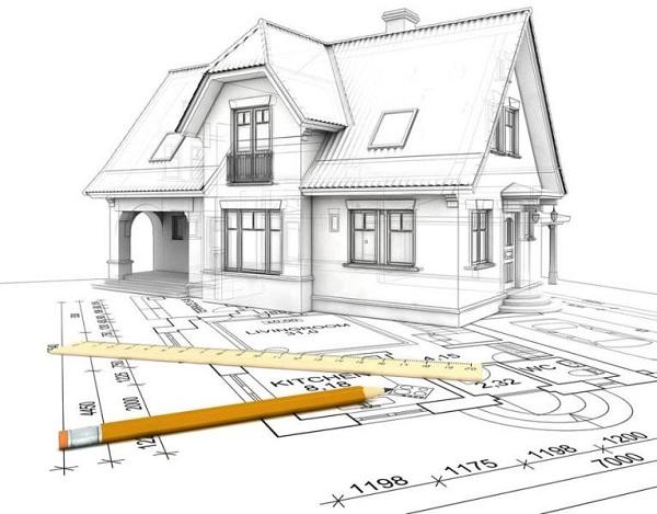 Bản vẽ thiết kế kiến trúc là một hồ sơ hoàn chỉnh về các đường nét của toàn bộ ngôi nhà