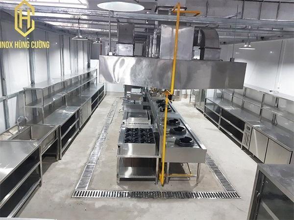 Tủ nấu cơm công nghiệp bằng gas chất lượng.