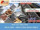 Đơn giá xây dựng phần thô tại Công ty Xây Dựng Nhà Xinh