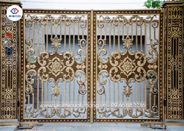 BISCO Việt Nam đơn vị thi công, thiết kế mẫu cổng đẹp đơn giản hiện nay