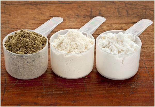 Các loại protein dạng bột hiện nay được rất nhiều khách hàng để bổ sung dinh dưỡng.