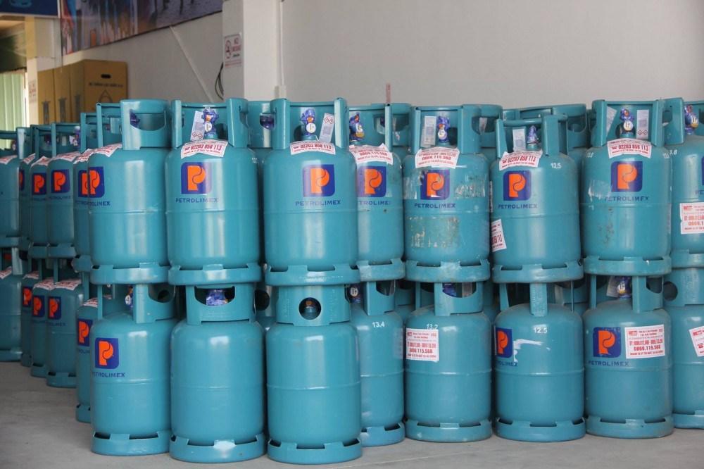 binh gas 12kg gia bao nhieu